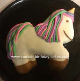 Homemade Unicorn Cake