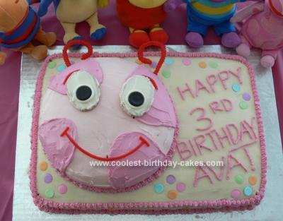 Homemade Uniqua Birthday Cake