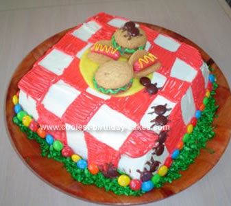 Homemade Unwelcome Guest Cake