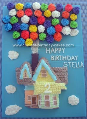Swell Coolest Up House Birthday Cake Personalised Birthday Cards Paralily Jamesorg