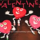 Homemade Valentine Cake Design
