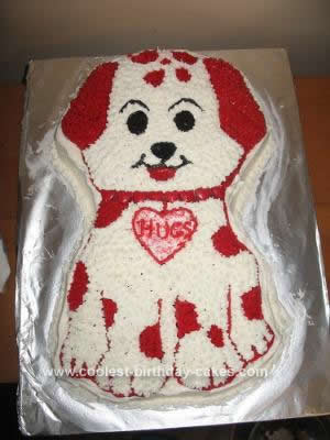 Excellent Coolest Valentine Puppy Cake Design Funny Birthday Cards Online Elaedamsfinfo