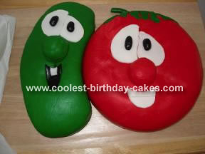 Veggie Tale Cake