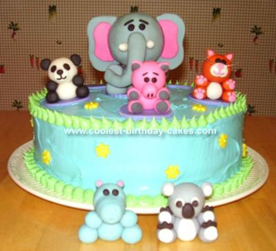 Webkinz Cake