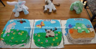 Homemade Webkinz Cake