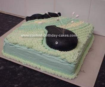 Homemade  Whale Cake