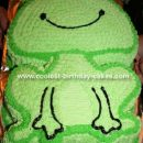 Whimsical Froggy Cake