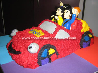 Wiggles Big Red Car Cake
