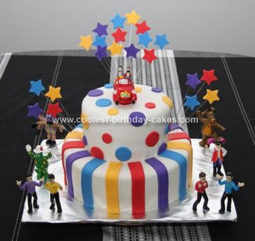 Incredible Coolest Wiggles Birthday Cake Birthday Cards Printable Opercafe Filternl