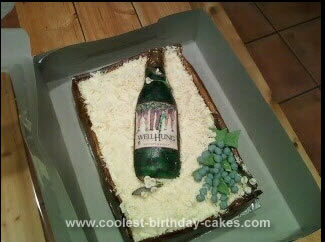 Homemade Wine Cake