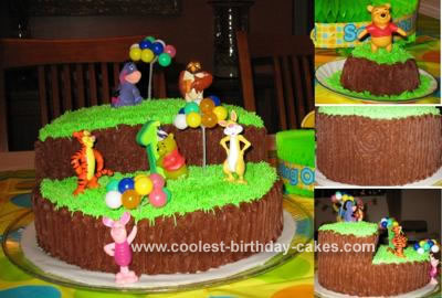 Winnie and Friends Cake