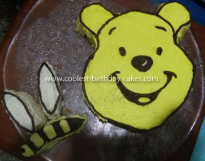 Coolest Winnie the Pooh Cake