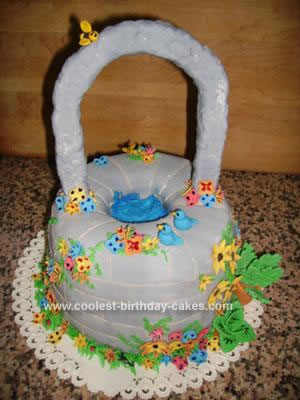 Homemade Wishing Well Cake