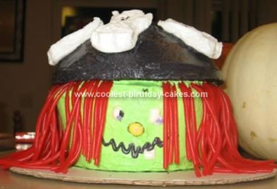 Homemade Witch Cake
