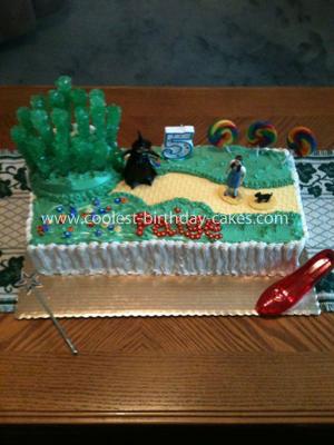 Coolest Wizard of Oz Birthday Cake