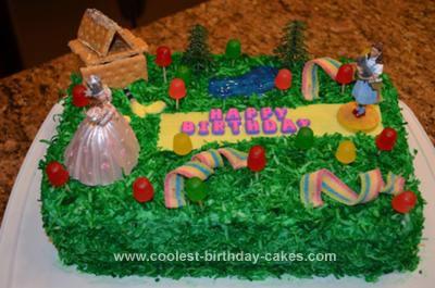 Homemade Wizard of Oz Cake
