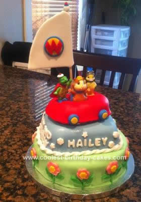 I Created This Wonder Pets Birthday Cake For A Little Girls 2nd Her Father Contacted Me And Asked To Create Based On Picture He Saw