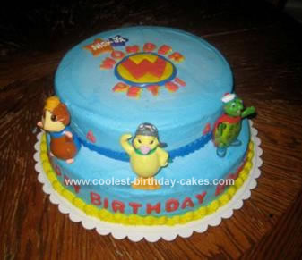 Excellent Coolest Wonder Pets Birthday Cake Funny Birthday Cards Online Overcheapnameinfo
