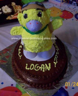 Homemade Wonder Pets Cake