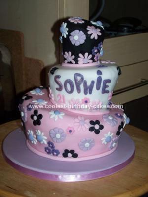 Homemade Wonky Cake