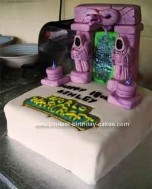 Coolest World of Warcraft Cake
