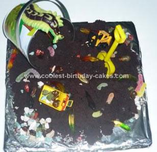 Homemade Worm Dirt Cake