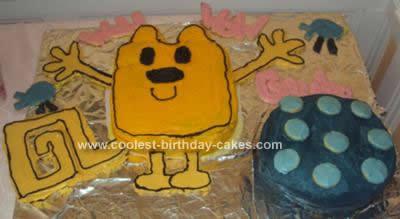Homemade  Wow Wow Wubbzy Birthday Cake