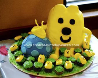 Homemade  Wow Wow Wubbzy Birthday Cake
