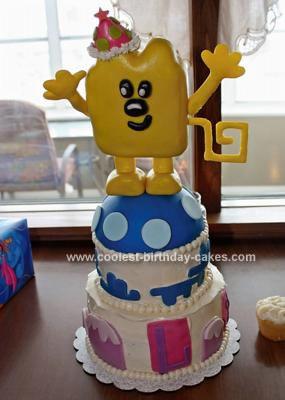 Homemade Wow Wow Wubbzy Cake