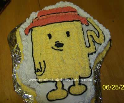 Homemade WowWow Wubzy Cake