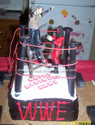 Remarkable Coolest Wwe Birthday Cake Funny Birthday Cards Online Inifodamsfinfo