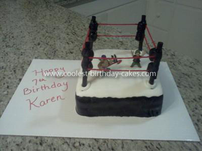 Coolest WWE Raw Birthday Cake