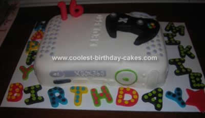Remarkable Coolest Xbox 360 Birthday Cake Funny Birthday Cards Online Inifofree Goldxyz