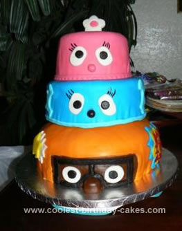 Magnificent Coolest Yo Gabba Gabba Birthday Cake Funny Birthday Cards Online Elaedamsfinfo