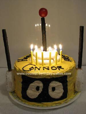 Homemade Yo Gabba Gabba Cake