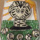 Homemade Zebra Cake