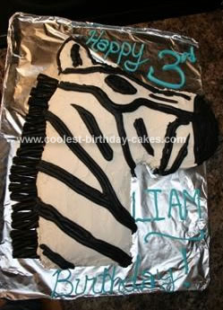 Homemade Zebra Cake