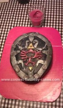 Homemade Zelda Birthday Cake