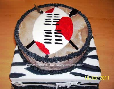 Homemade Zulu Traditional Cake