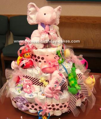 Brooke's Diaper Cake