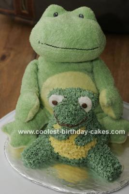 Stuffed Froggy  Cake