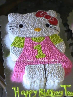 Astounding Hello Kitty Cake Personalised Birthday Cards Paralily Jamesorg
