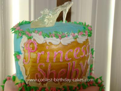 Homemade Disney Princess Birthday Cake