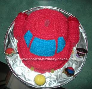 Coolest Little Einstein Rocket Cake
