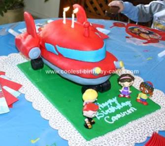 Little Einstein Rocket Cake
