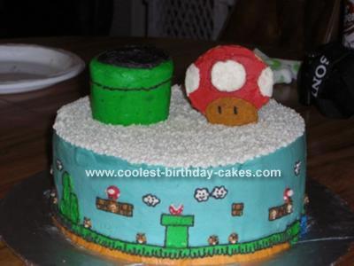 Will's Mario Birthday Cake