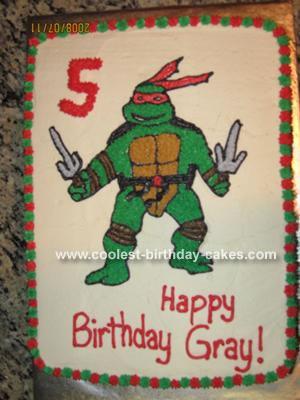 Stupendous 71 Coolest Teenage Mutant Ninja Turtle Cake Ideas Personalised Birthday Cards Petedlily Jamesorg