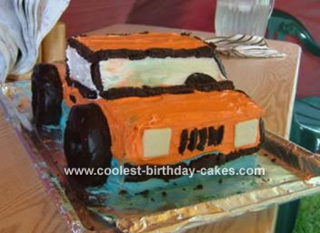 Pickup Truck Cake