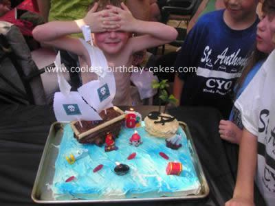 This Is Amazing - Pirate Scene Cake