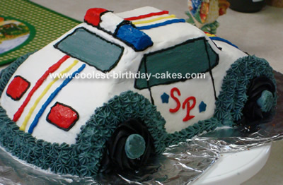 Fine Coolest Homemade Police Cakes Funny Birthday Cards Online Alyptdamsfinfo